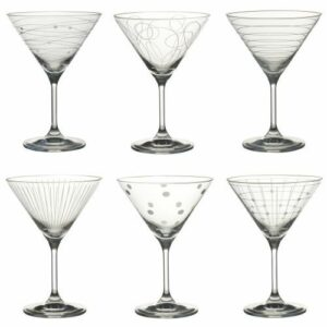 Verres à cocktail Graphik Lot de 6