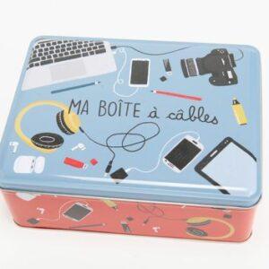 Boite à cables Hauteur: 8 cm Largeur: 16cm Profondeur: 21cm
