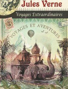 Carnet mots de passe illustré Jules Verne