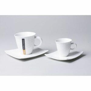 Tasse à café 10 cl avec soucoupe Dune