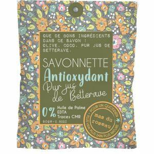 Savonnette – Antioxydant 80 Gr – QUINOA PUR JUS DE BETTERAVE