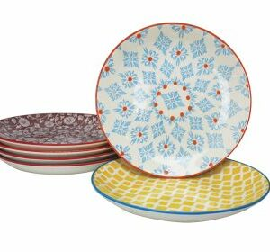 6 Assiettes plates lot de 6