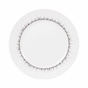 Assiette plate Boréalis gris 27 cm