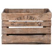 Cageot de pommes en bois