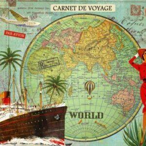 Cahier illustré Carnet de voyage