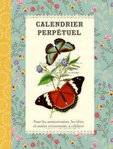 Calendrier perpétuel Les Papillons