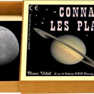 Jeu de cartes Connais-tu les planetes