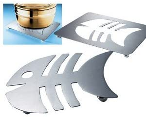 Dessous de plat en métal