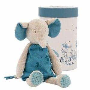Doudou L'éléphant Bergamote