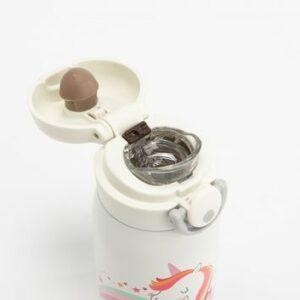 Gourde Licorne isotherme en acier inoxydable 320 ml