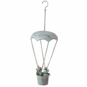 Magnifique suspension parachute oiseaux
