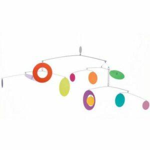 Mobile modèle confettis
