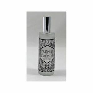 Parfum d'intérieur en vaporisateur. Flacon en verre sérigraphié, 100ml Fève Tonka