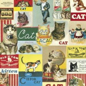 poster – affiche chats vintages