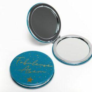 Miroir de poche fabuleuse atsem