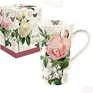 """Mug en porcelaine 60cl """"Jardin Botanique"""""""