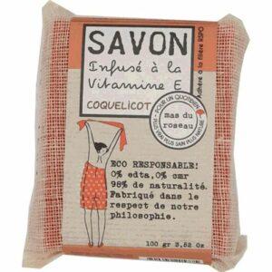 Savon Coquelicot Infusé à la Garance