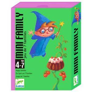 """Jeu de cartes """"Mini family"""" de 4 à 7 ans"""