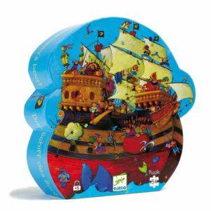 """Puzzle 54 pièces """"Bateau de Barberousse"""" Djeco"""
