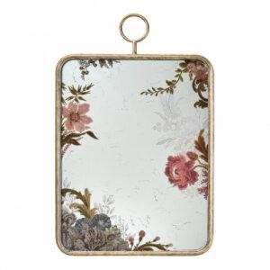 Miroir rectangulaire 40,50 X 65,50cm Cabinet des Merveilles – Mathilde M