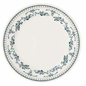 """Assiette plate 26cm """"Faustine"""" de Comptoir de Famille"""