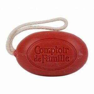 Savon  Parfum Tomate rouge Comptoir de Famille Fabrication Française