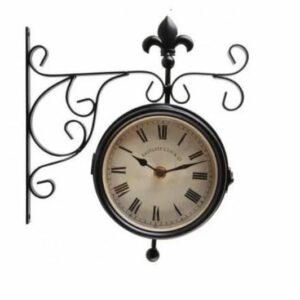 Horloge station et thermomètre intérieure et extérieure.