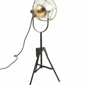 Lampe noire 67cm